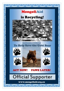 Recycling Official Supporter poster